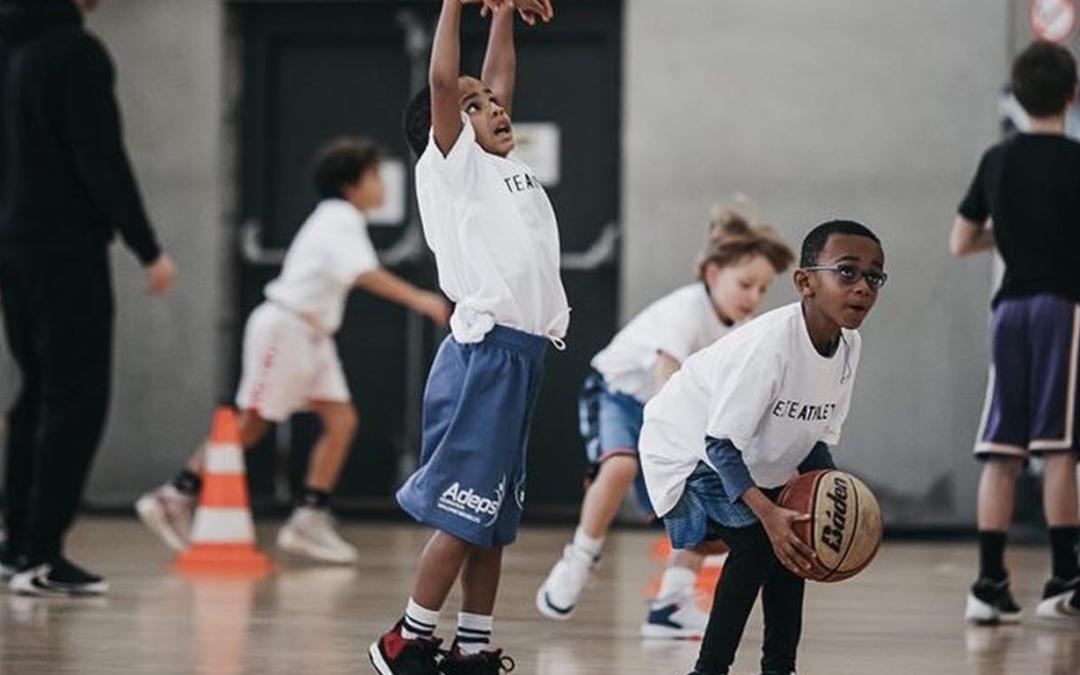 How I teach shooting to mini basket
