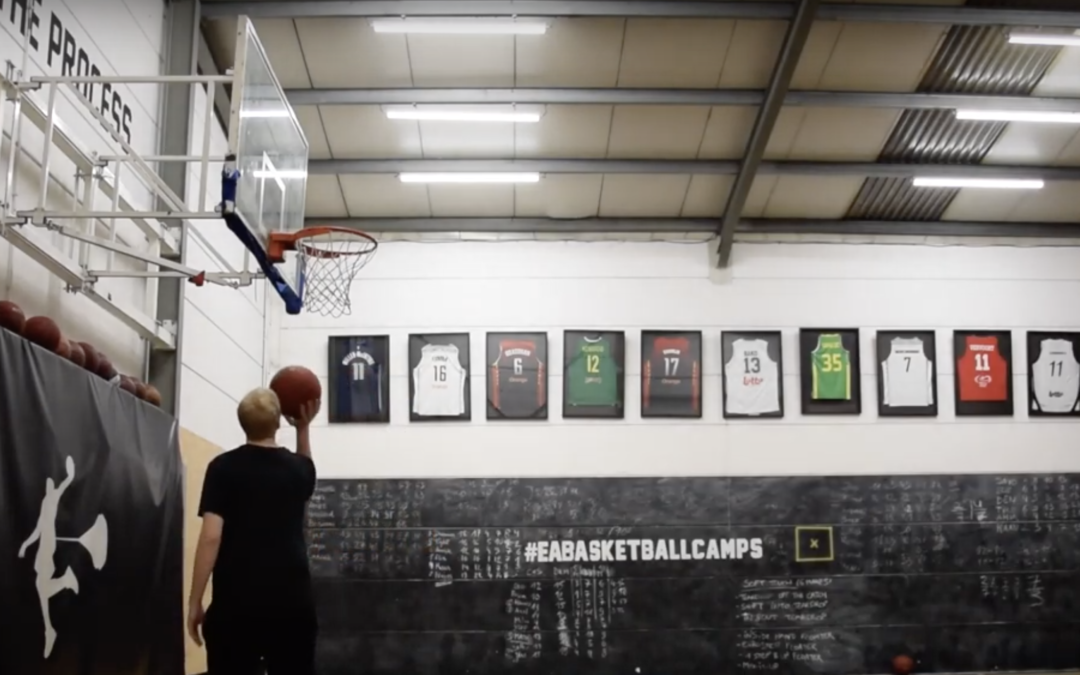How players can work on their shot when coming to the gym