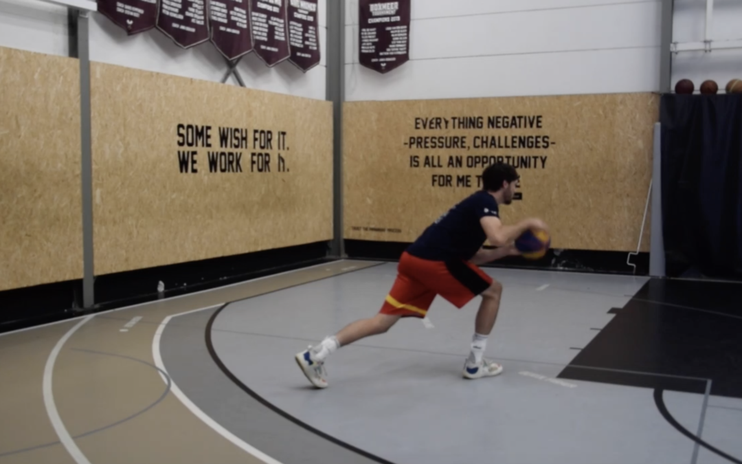Recovery shooting workout with 3×3 national team