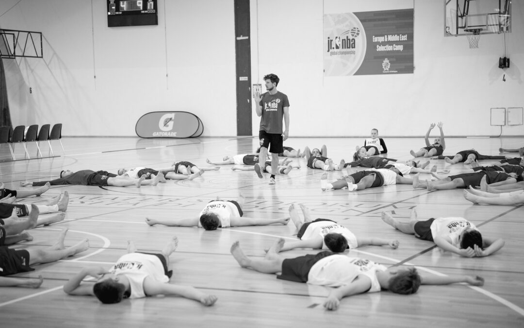 Learning to relax as part of youth athletic development